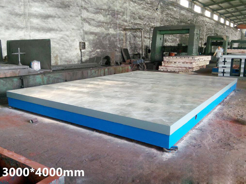 铸铁平台的工作质量注意事项及安装方法